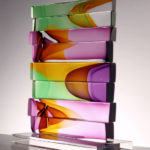 2_Christine_Barney_In the Wind_Glass_ 11.5 in.H. x 9.5 in.W. x 4 in.D.