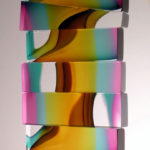 3_Christine_Barney_Venetian Blind_Glass_11 in. H. x 7.25 in. W. x 2 in. D.