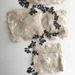 Eileen_Ferara_Embankment creeper_handmade paper + cut paper, block print_2 1:2ft x 7ft
