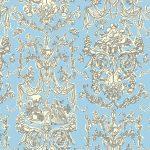 La Tech Epoch (wallpaper design lt. blue/crème)