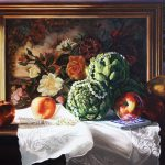 Still Life with Apples and Artichokes