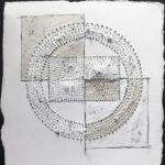 Megan Klim_Pierced #12_encaustic on pierced paper_12 x 12