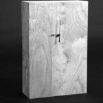 Hao_Feng_Now O'clock_Wood_17.5x11.37x4.5''