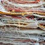 "Strata, 2016 archival pigment print / torn (Painting) 20x30"""