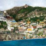 "Positano""-oil-on-canvas-36x48in"