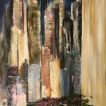 Jacqueline_Firmo Falconi_The City That Never Sleeps 3_Oil on canvas_30x48 in