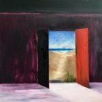 Jacqueline_Firmo Falconi_Escape2_Oil on canvas_36x36 in