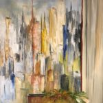 Jacqueline_Firmo Falconi_The City That Never Sleeps 2_ Oil on canvas_36x48 in