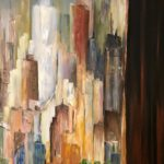 Jacqueline_Firmo Falconi_The City That Never Sleeps_Oil on canvas_30x48 in