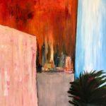 Jacqueline_Firmo Falconi_Peekaboo View_Oil on canvas_36x36 in