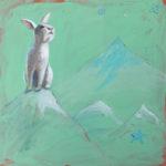 paul-federico-peace-bunny-oil & latex 24x24