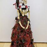 Carol_Quint_EvilPlastic:DevilsPurse_ Sculpture _14x21x9