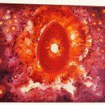 Monika Kalra - God Shiva in Incopreal World- 24 _18- Oil on Canvas
