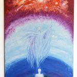 Monika kalra- Angelic Stage- 24_36- oil on canvas