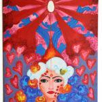 Monika_kalra_Harmonious Dance_oil on canvas_36*24 inch
