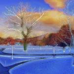 Arthur_Paxton_Williamstown Dusk_20x24in framed_archival pigment print_2015