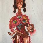 Gannon_Crutcher_Roho-Heri_Watercolor-Acrylic_12x9in