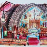 Richard_LaRovere_Five_Corners Church Interior