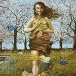 Bill_Zylut_oil&acrylic_Venus di Plasticooil&acrylic_24x36