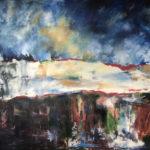 RM_Cimini_Break Down The Wall_Oil on Canvas_48 x 60