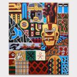 Mark_McKinney_A_Cultural_Exchange_acrylic_canvas_36x30