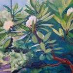 Francisco_Silva__July-Blooms-on-the-Dunnfield-Creek-Trail__Oil-on-canvas_36_x24_