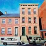 Francisco_Silva__The-Green-Door__Oil-on-canvas_36_x24_