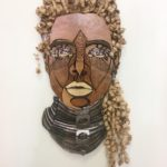 Philip_Robinson_Untitled Faces.01_Wood, Metal_38_x21_
