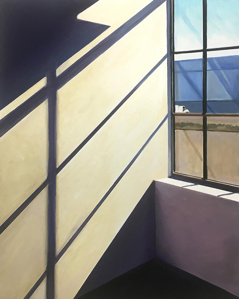 Gorman_Allan__Shadows at Kerany Point__Oil on Panel_20x16in